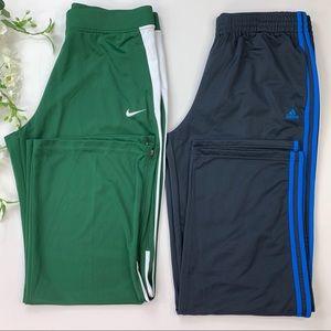 Adidas and Nike Pants XL
